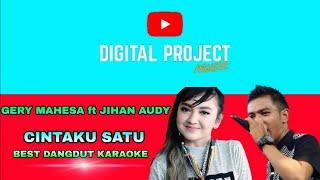 Gambar cover Gery Mahesa ft. Jihan Audy - Cintaku Satu ( Karaoke )