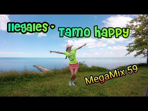TAMO HAPPY - Ilegales | Zumba fitness | Dance choreo by M. Belchikova