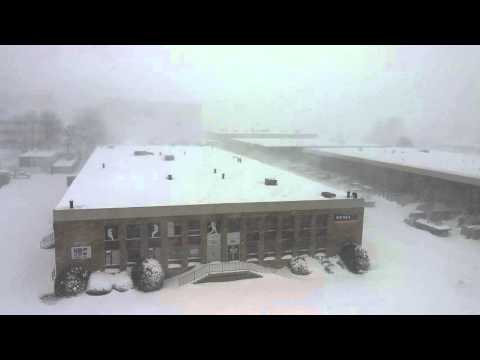 Blizzard 2016 at Merrifield, VA