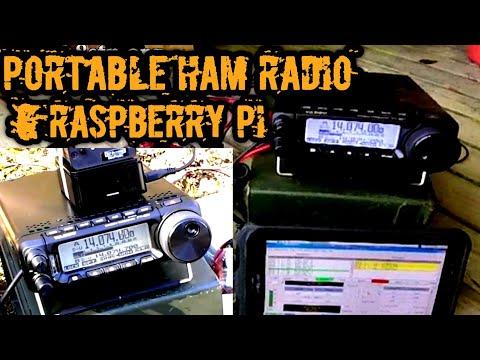 Raspberry Pi Powered HF Radio in an Ammo Can GoBox