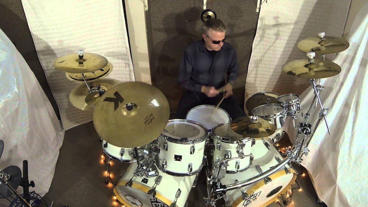 Rush Red Barchetta A Drum Cover Version Youtube