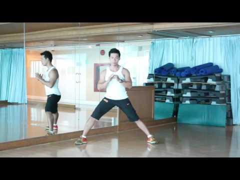 PMT:Side lunges ท่าฝึกกระชับต้นขาด้านใน(2)