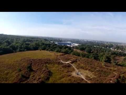 Mookerheide, drone flight in the Netherlands