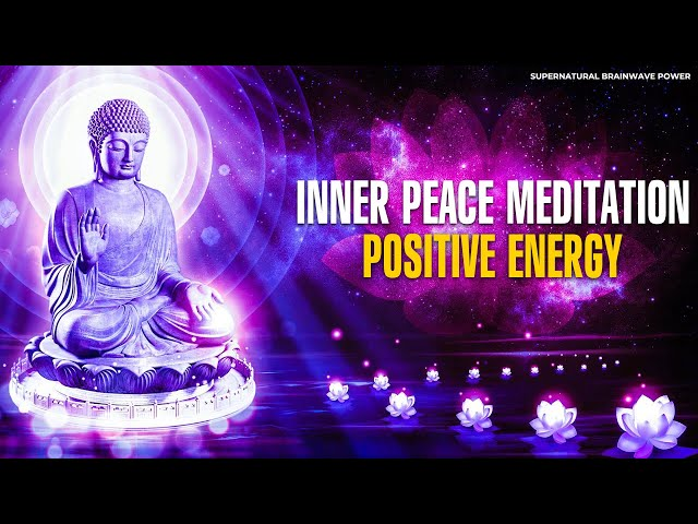 432Hz Inner Peace Meditation | Power Sleep Music | Positive Energy Manifestation Music, Healing Tone