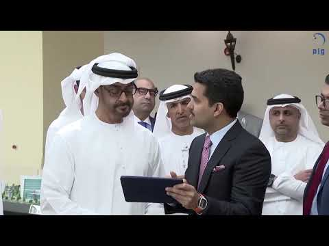 His Highness Sheikh Mohammed bin Zayed Al Nahyan visit Burjeel Hospital, Abudhabi