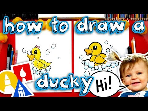How To Draw A Rubber Ducky + Artist Spotlight!