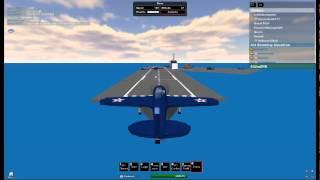 ROBLOX SBD Dauntless landing