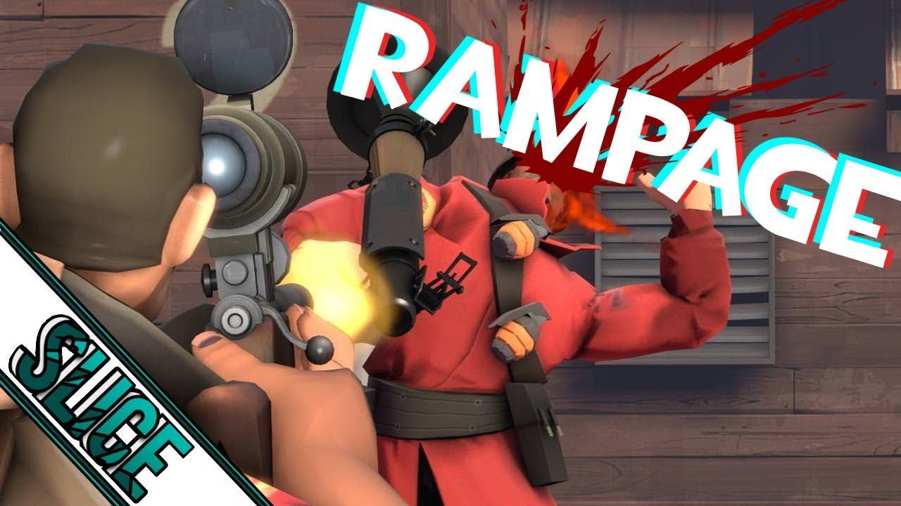 TF2 : Sniper Rampage! (live comm)