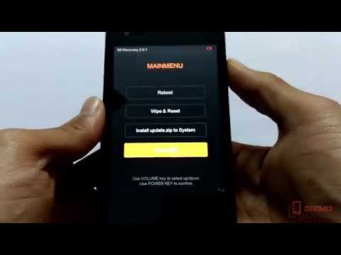 How to Boot Xiaomi Redmi 1S Into Recovery Mode