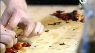Жить вкусно с Джейми Оливером  19 серия/овощи на гриле/ коктейль Pimm's/шашлык из рыбы