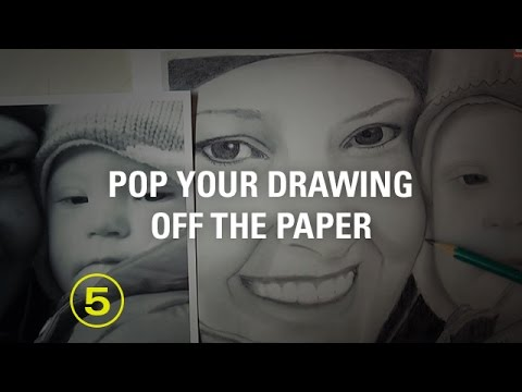 "From Flat to ""3D"" Drawings Using the Simple Rule of ""Edge to Value"" — A Drawing Critique"