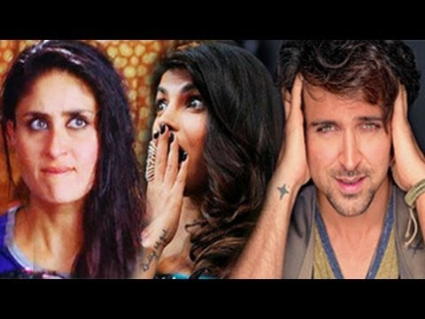 Kareena Kapoor & Priyanka Chopra FIGHT for Hrithik Roshan