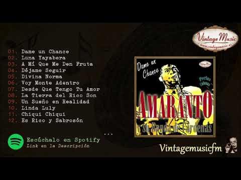 Amaranto. Dame un chance, Colección Perlas Cubanas #139 (Full Album/Album Completo)