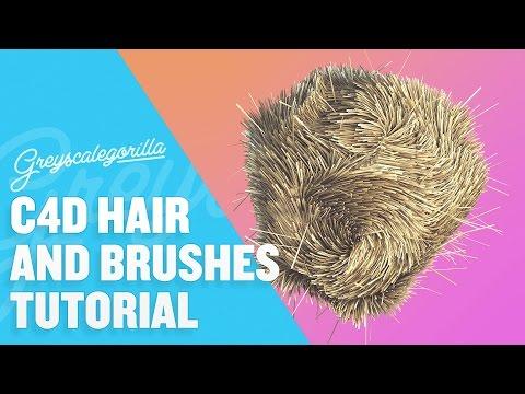 Cinema 4D Hair - Learn how to grow and control hair in Cinema 4D