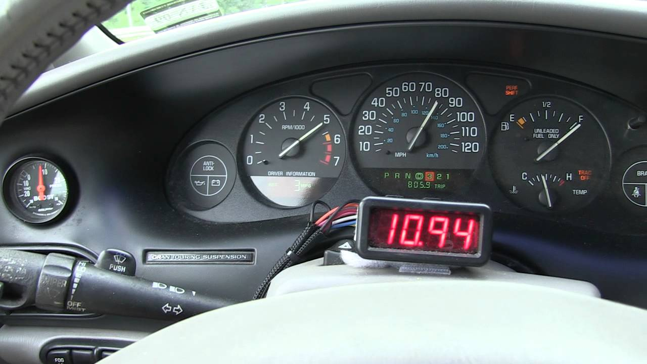Regal Speedometer - YouTube