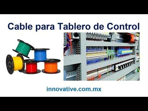 Cable para Tableros de Control - Cable Monoconductor - Cable de Un Polo - Cable Un Conductor