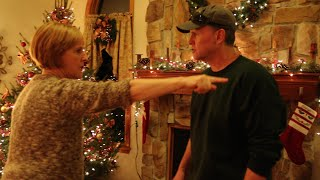 AUNT MELISSA FIGHTS PSYCHO DAD!