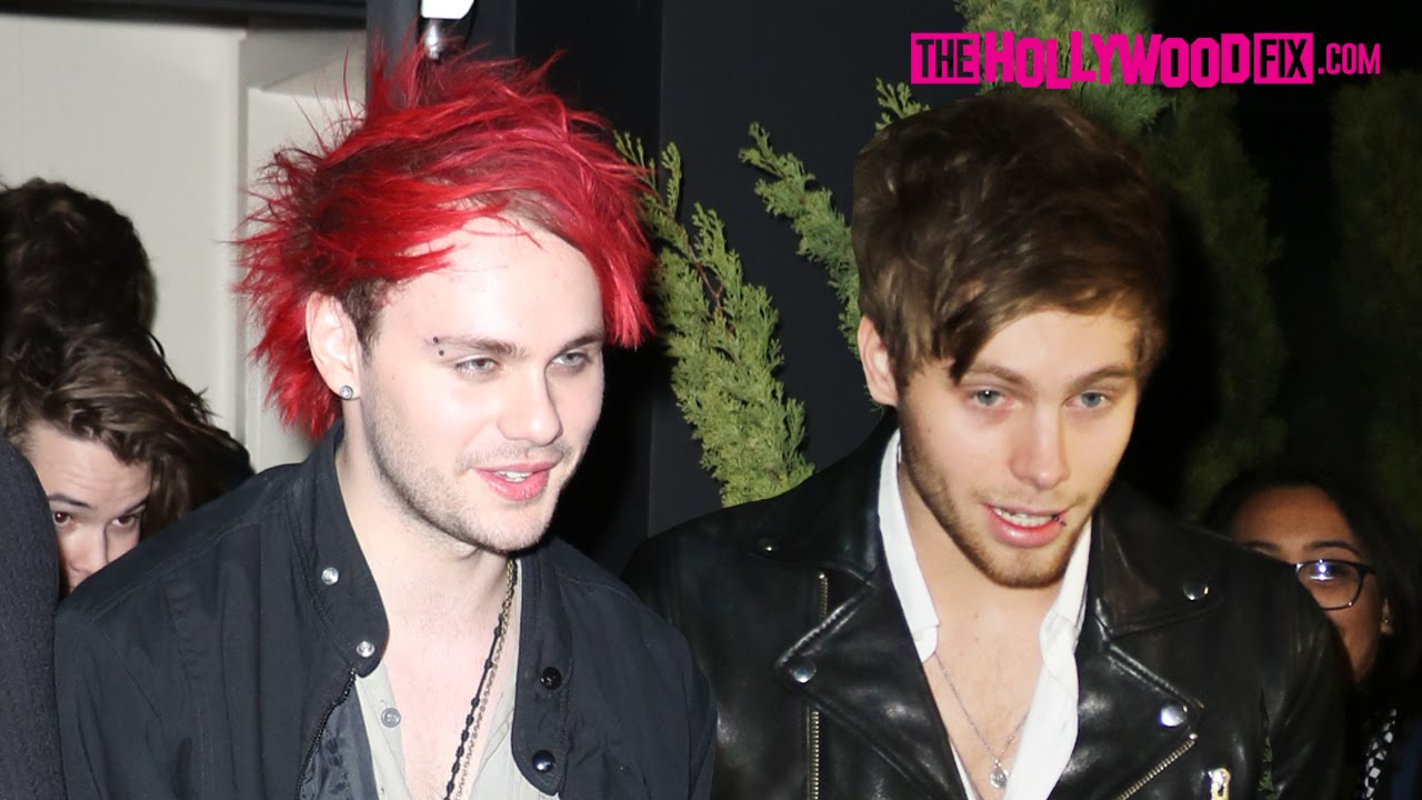 Michael And Luke 5sos 2014