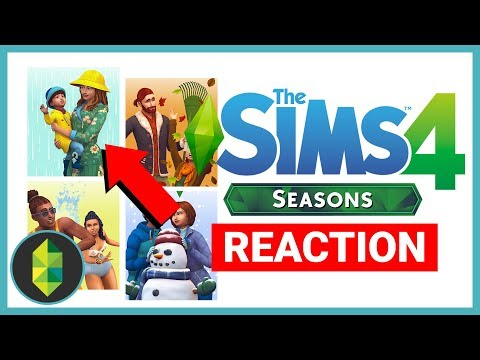 The Sims 4 SEASONS Trailer Reaction!