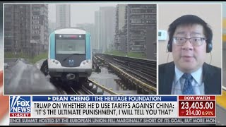 China Wants to Take Down the U.S. to Accomplish Its Goals -- Dean Cheng on Fox News