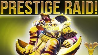 🔴 LIVE! Destiny 2 Leviathan Prestige Mode Raid! (Clean 70 Minute Run. Normal For fun After)