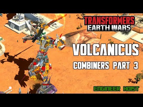 Transformers: Earth Wars - Combiners Part 3 - Volcanicus