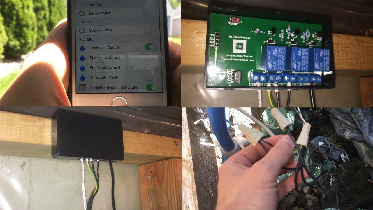 Complete Guide Sprinkler System MQTT OpenHAB ESP8266 : Final Installation