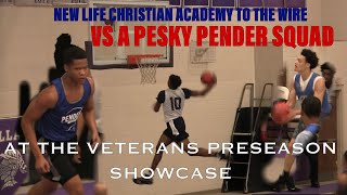 Pender High School Takes On New Life Christian At The Veterans Preseason Showcase!!!