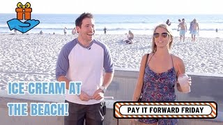 Ice Cream at the Beach on Pay it Forward Friday TV!