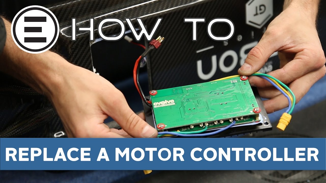 How To Replace Motor Controller Evolve Skateboards Youtube 36v Electric Skateboard Wiring Diagram