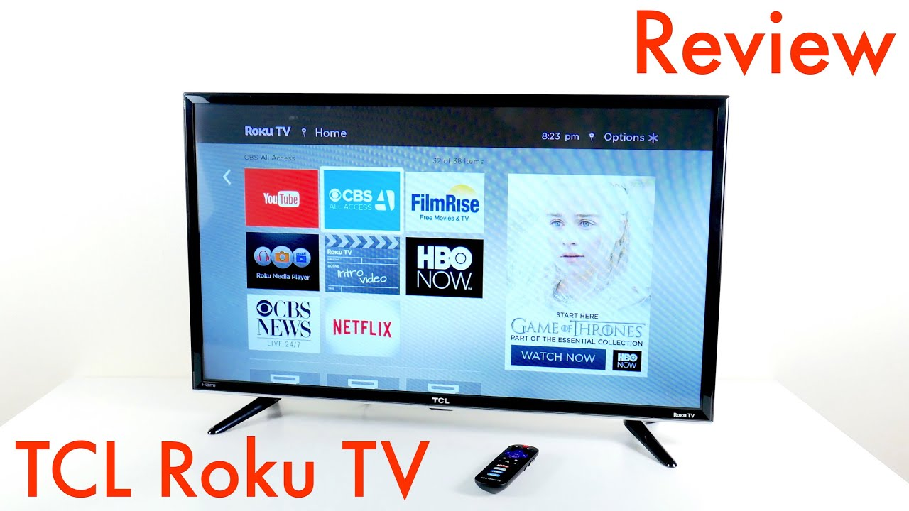 TCL Roku TV Review - 32S3800 Smart LED TV - YouTube