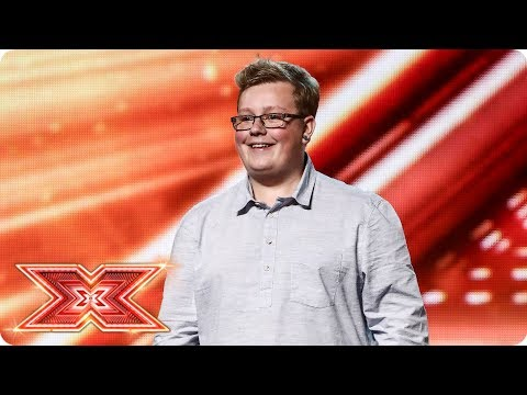 Jack Mason beats his nerves to show the Judges what he's made of | Boot Camp | The X Factor 2017