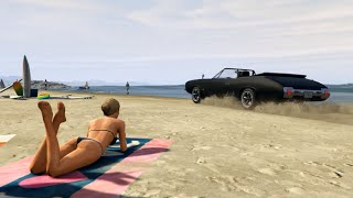 GTA 5 Online Film/Movie (Rockstar Editor): Beach Drive