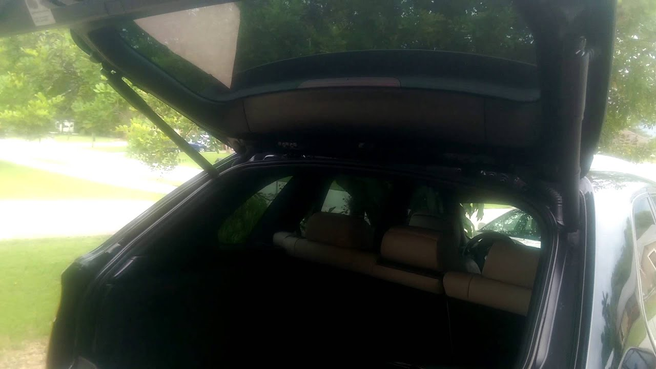 Bmw x5 tailgate wont open