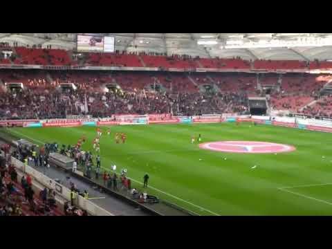 Vfb Stuttgart vs Fc Bayern München Warm machen Vfb am 16.12.17
