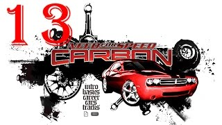 Need for Speed Carbon 1080p Collector's Edition прохождение 13 - спидхантинг на Corvette z06