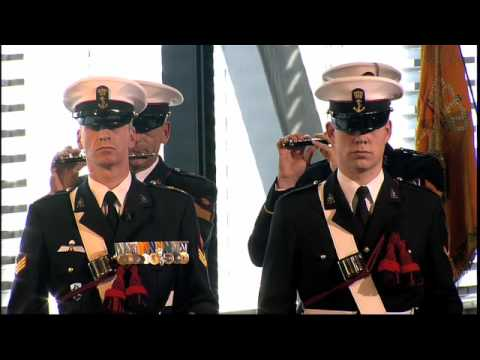 Marine Band of the Royal Netherlands Navy  - Anoniem/Jacob Rauscher - De Vaandelmars