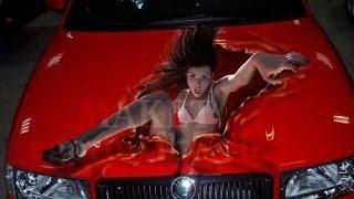 Крутой тюнинг | Тюнинг  3D аэрография авто //  ART Airbrush Cool car tuning ( HD )(Крутой тюнинг | Тюнинг 3D аэрография авто // ART Airbrush Cool car tuning . Аэрография — это один из видов искусства, котор..., 2014-12-09T19:35:42.000Z)