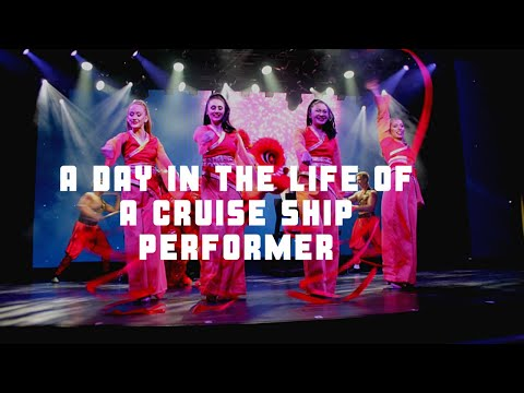 A Day In The Life Of A Cruise Ship Performer