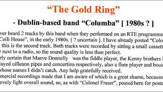 Columba : The Gold Ring