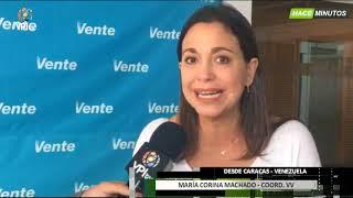 Venezuela. María Corina Machado habla sobre el diálogo y las municipales  -VPItv