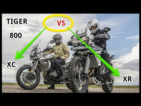 2018 Triumph Tiger 800 Xc And Xr Youtube