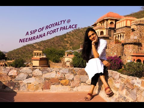 A day out in Neemrana | Neemrana Fort Palace | Sassily Solo