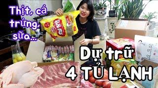 Dự trữ đồ ăn như vậy có đủ không? Cuộc sống Hàn Quốc