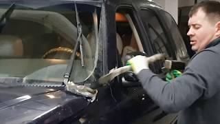 ДТП в Новый Год! Кузовной ремонт Cadillac Escalade за два часа!