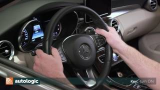 How to Pair a Mobile Phone on a Mercedes-Benz W205