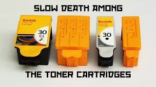 Slow Death Among The Toner Cartridges
