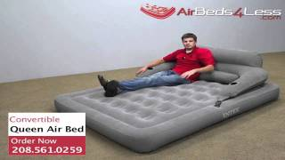 Intex Convertible Lounge Queen Camping Air Bed