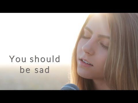 You should be sad by Halsey | cover by Jada Facer