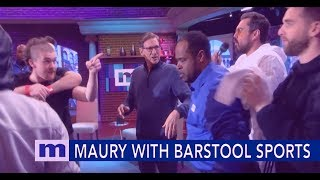 Maury's Social Smackdown with Barstool Sports | The Maury Show